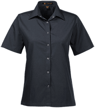Malverne High School Ladies Snap Closure Short-Sleeve Shirt