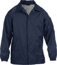 Batting Cage Custom Nylon Staff Jacket