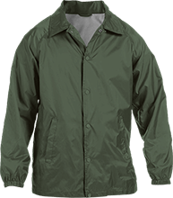 Janesville Parker High  School Vikings Custom Nylon Staff Jacket