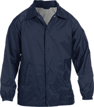 Lansing Eastern High School Quakers Custom Nylon Staff Jacket