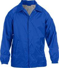 Wayne Elementary School Blue Devils Custom Nylon Staff Jacket