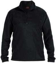 Tennis Embroidered 1/4 Zip Fleece Pullover