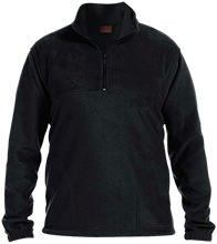 Fitness Embroidered 1/4 Zip Fleece Pullover