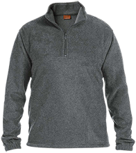 EVIT Embroidered 1/4 Zip Fleece Pullover