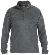Accomodation Middle School School Embroidered 1/4 Zip Fleece Pullover