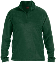 The Computer School Terrapins Embroidered 1/4 Zip Fleece Pullover