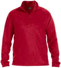 Indian Community School Eagles Embroidered 1/4 Zip Fleece Pullover