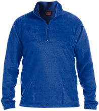 Malverne High School Embroidered 1/4 Zip Fleece Pullover