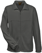 Bilingual Orientation Center School Embroidered Fleece Full-Zip