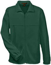St. Patrick's School Shamrocks Embroidered Fleece Full-Zip