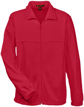 South Portland High School Red Riots Embroidered Fleece Full-Zip