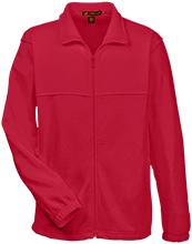 Fort Hill Elementary School Hawks Embroidered Fleece Full-Zip