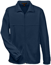 Lansing Eastern High School Quakers Tall Men's Full Zip Fleece