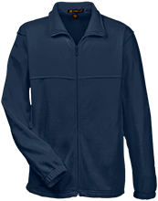 A R Carethers Academy Eagles Embroidered Fleece Full-Zip