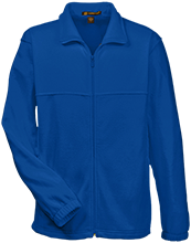 Van Meter High School Bulldogs Tall Men's Full Zip Fleece