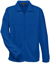Farms Middle School Eagles Embroidered Fleece Full-Zip