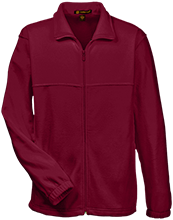 Johnson College Prep Pumas Tall Men's Full Zip Fleece