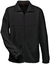 Manchester East Soccer Tall Men's Full Zip Fleece