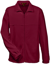 Shepherd Of The Valley Lutheran Tall Men's Full Zip Fleece