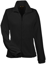 Booth Middle School Warriors Womens Fleece Jacket