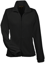 Finley Oates Elementary School Warriors Womens Fleece Jacket