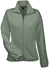 Soccer Womens Fleece Jacket