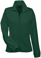 Janesville Parker High  School Vikings Womens Fleece Jacket