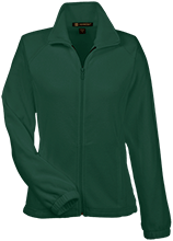 New Castle Chrysler High School Trojans Womens Fleece Jacket