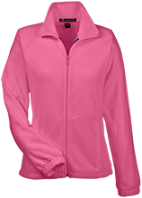 Cloverlawn Academy School Womens Fleece Jacket