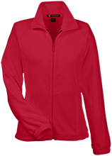 Crandon High School Cardinals Womens Fleece Jacket