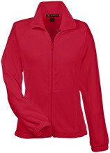 Holy Trinity School Crosses Womens Fleece Jacket