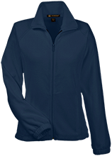 Montpelier Schools Locomotives Womens Fleece Jacket