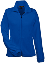 Blue Streaks Blue Streaks Womens Fleece Jacket
