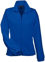 Colma Elementary School Cougars Womens Fleece Jacket