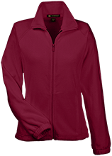 Spirit Life Christian Academy Warriors Womens Fleece Jacket