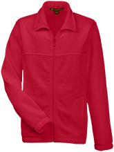 German American School Of San Francisco School Youth Embroidered Fleece Full Zip