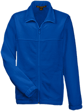 Adams City Baptist School Torches Youth Embroidered Fleece Full Zip