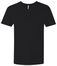 Netball Next Level Men's Premium Fitted SS Vneck