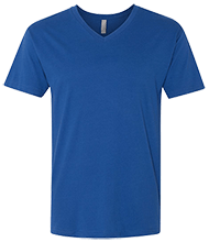 Malverne High School Next Level Men's Premium Fitted SS Vneck