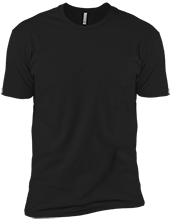 Navy Next Level Premium Short Sleeve T-Shirt