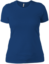 Wayne Elementary School Blue Devils Next Level Ladies Boyfriend T-Shirt