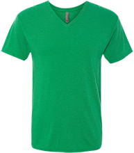 Soccer Men's Next Level Triblend V-Neck T-Shirt