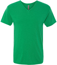 Cary Junior High Shool Dragons Men's Next Level Triblend V-Neck T-Shirt
