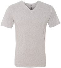 Nathan Clifford Elementary School School Houses Men's Next Level Triblend V-Neck T-Shirt