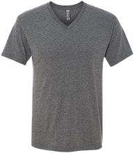 Central Valley Home School School Men's Next Level Triblend V-Neck T-Shirt