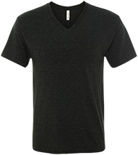DESIGN YOURS Men's Next Level Triblend V-Neck T-Shirt