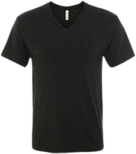 Quibbletown Middle School Men's Next Level Triblend V-Neck T-Shirt