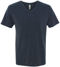 Berean Christian Academy Berean Bears Men's Next Level Triblend V-Neck T-Shirt
