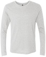 Shepherd Of The Valley Lutheran Next Level Men's Tri-Blend Long Sleeve T-Shirt