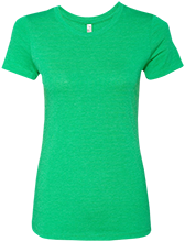 Saint Patrick School Shamrocks Next Level Ladies Triblend T-Shirt